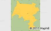 Savanna Style Simple Map of Pirai