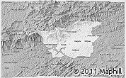 Gray 3D Map of Resende