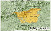 Savanna Style 3D Map of Resende
