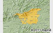 Savanna Style Map of Resende