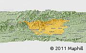 Savanna Style Panoramic Map of Resende
