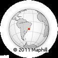Outline Map of Teresopolis