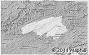 Gray 3D Map of Valencia