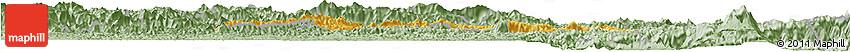 Savanna Style Horizon Map of Valencia