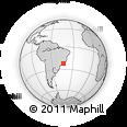 Outline Map of Vassouras