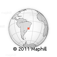 Outline Map of Volta Redonda