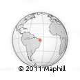 Outline Map of Alexandria