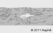 Gray Panoramic Map of Alexandria