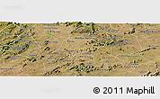 Satellite Panoramic Map of Alexandria