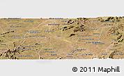 Satellite Panoramic Map of Caico