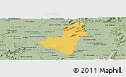 Savanna Style Panoramic Map of Caico