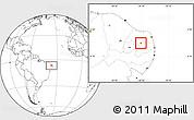 Blank Location Map of Carnauba Dos D.