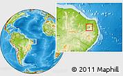 Physical Location Map of Carnauba Dos D.