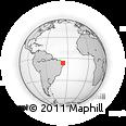 Outline Map of Carnauba Dos D.
