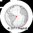 Outline Map of Coronel Ezequiel
