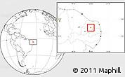 Blank Location Map of Cruzeta