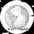 Outline Map of Cruzeta