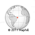 Outline Map of Jacana