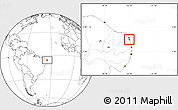 Blank Location Map of Nisia Floresta