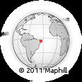 Outline Map of Nisia Floresta