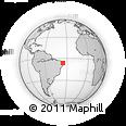 Outline Map of Passa E Fica