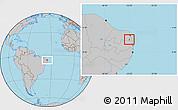 Gray Location Map of Varzea