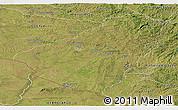 Satellite Panoramic Map of Baje