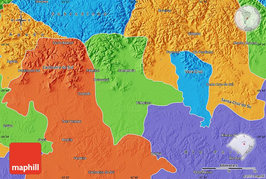 Political Map Of Candelaria - Candelaria map