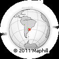 Outline Map of Dom Pedrito