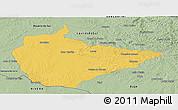 Savanna Style Panoramic Map of Dom Pedrito