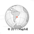 Outline Map of Gramado