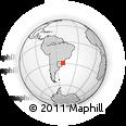 Outline Map of Gramado