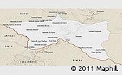 Classic Style Panoramic Map of Santana do livra