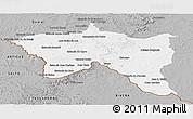 Gray Panoramic Map of Santana do livra