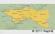 Savanna Style Panoramic Map of Santana do livra