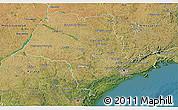 Satellite 3D Map of Sao Paulo
