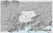 Gray 3D Map of Bananal