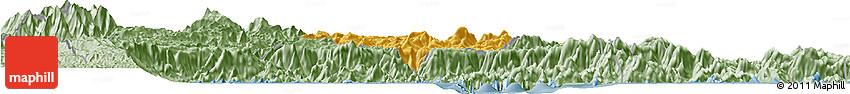 Savanna Style Horizon Map of Bananal