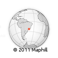 Outline Map of Cachoeira Paulis