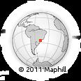 Outline Map of Cananeia