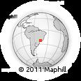 Outline Map of Mte Alegre Do Su