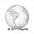 Outline Map of Pinhal