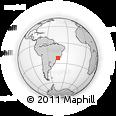 Outline Map of Queluz