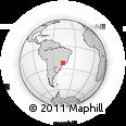 Outline Map of Serra Negra