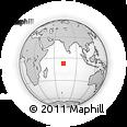 Outline Map of British Indian Ocean Territory