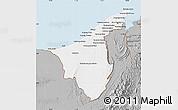 Gray Map of Muara/Seria/Tutong