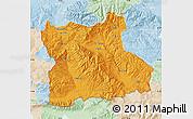 Political Map of Blagoevgard, lighten