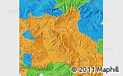 Political Map of Blagoevgard