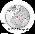 Outline Map of Blagoevgard