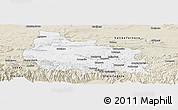 Classic Style Panoramic Map of Gabrovo